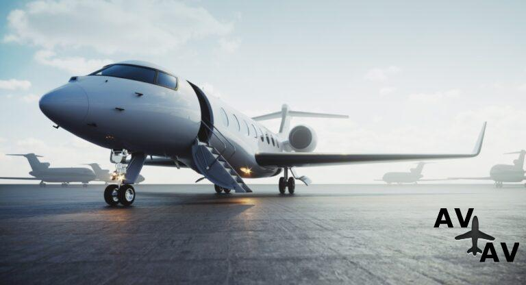 Business private jet